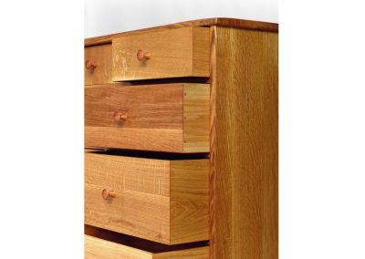 Dresser in quatersawn oak