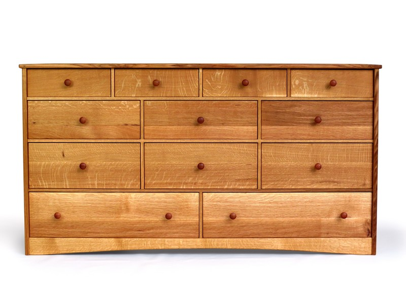 Dresser in quatersawn oak