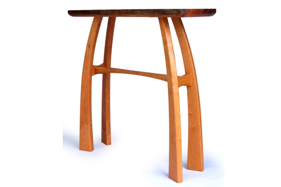 Cherry entry table