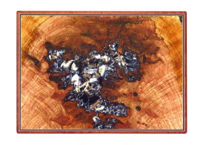 Black oak wall art