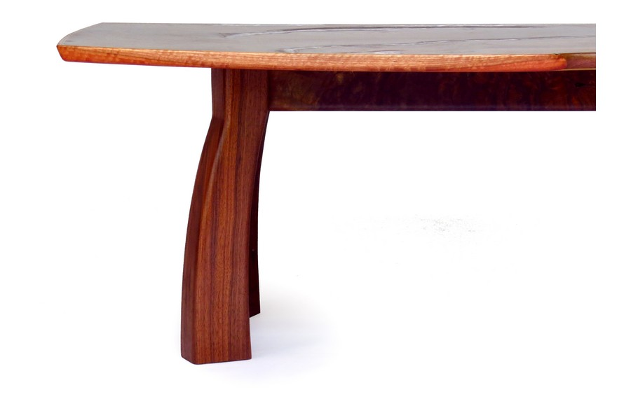 Claro walnut coffee table
