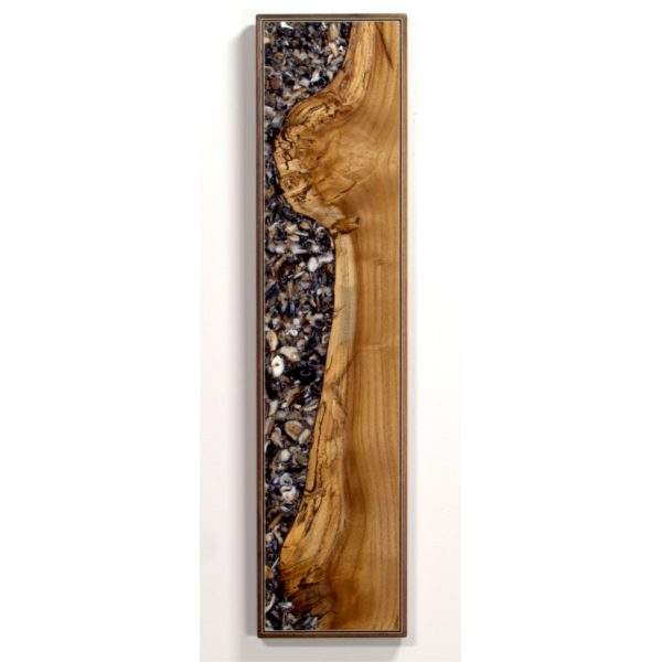 Mulberry and mussle shell Wall Art